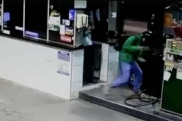 Video: Ladrón termina asesinado al intentar robar en Brasil