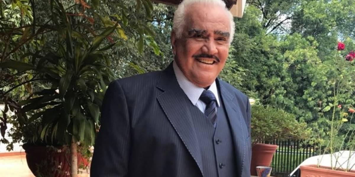 """Vicente Fernández pide que dejen de """"matarlo"""" con noticias falsas sobre su muerte"""