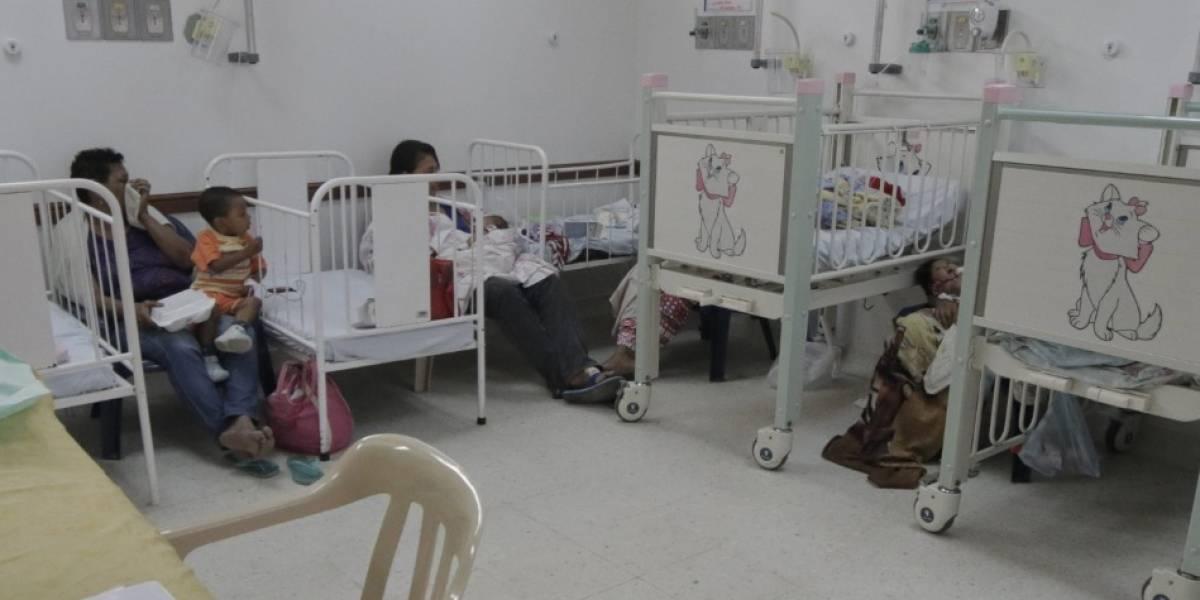 Bebé llegó al hospital por herida en brazo y terminó con muerte cerebral