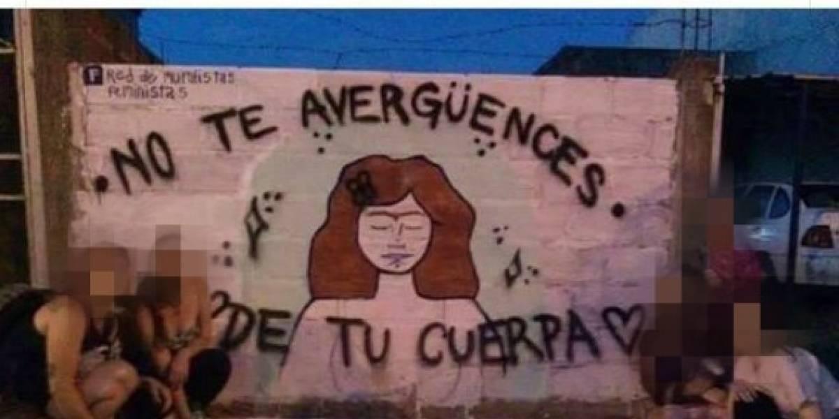 """""""Se dice cuerpa porque es de mujer. El cuerpo es del hombre"""": así es el mural que se volvió viral en redes sociales"""