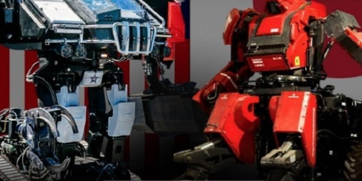 Combate 'a muerte' entre robots gigantes, la apuesta 'deportiva' del futuro