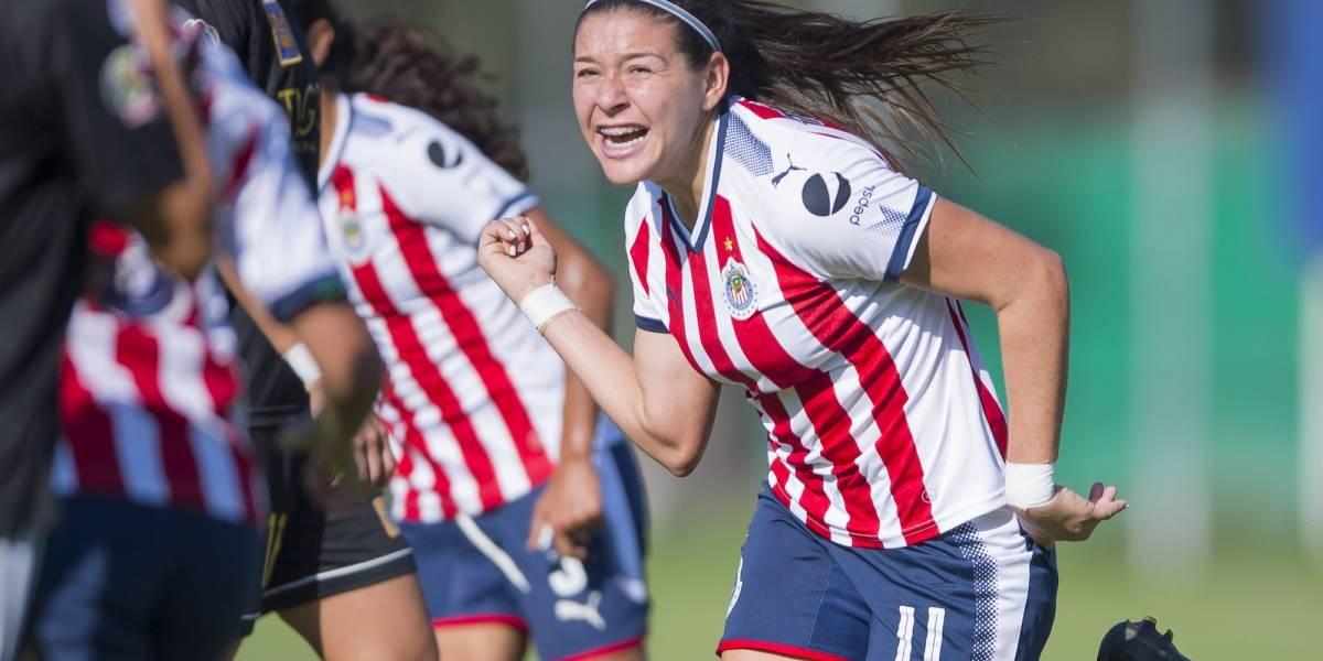 Triunfo de oro para Chivas femenil: 1-0 sobre Tigres