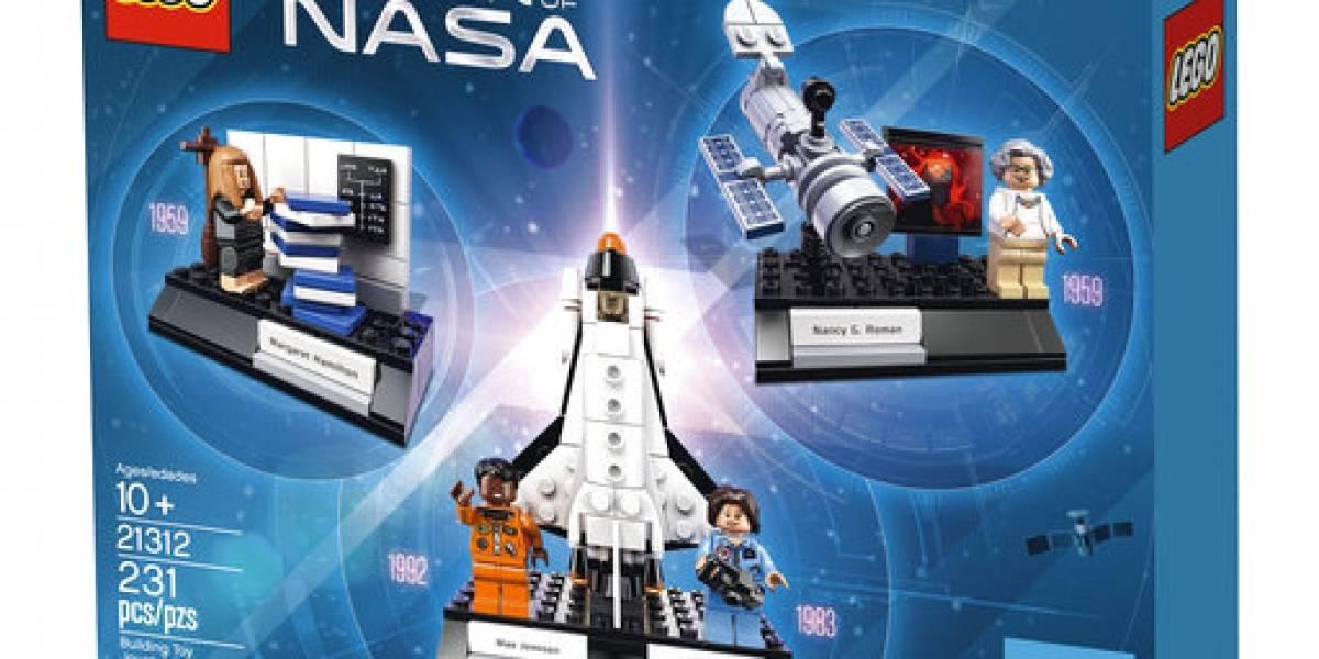 Lego presenta caja con astronautas y científicas de NASA