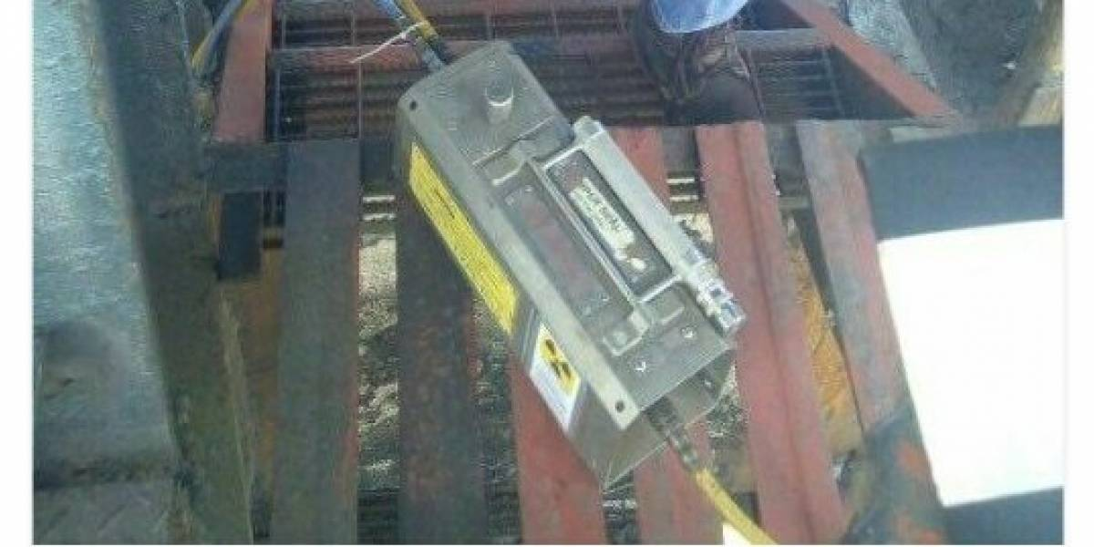 Fuente radioactiva robada fue encontrada en calles de Tepic