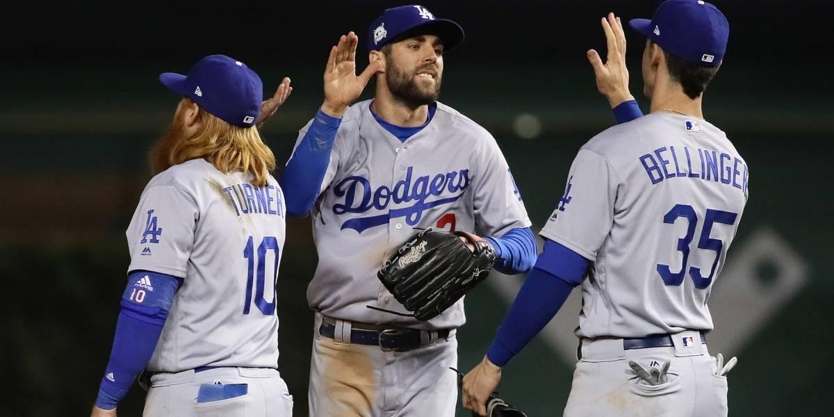 Los Dodgers se ponen a un juego de avanzar a la Serie Mundial