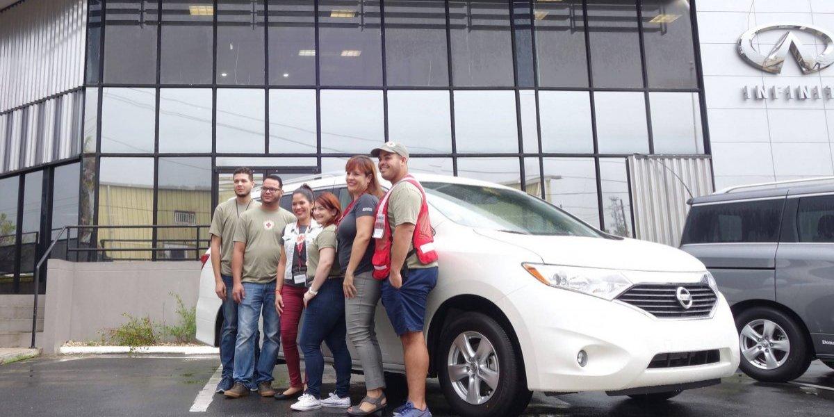 Nissan se une a la Cruz Roja Americana en Puerto Rico