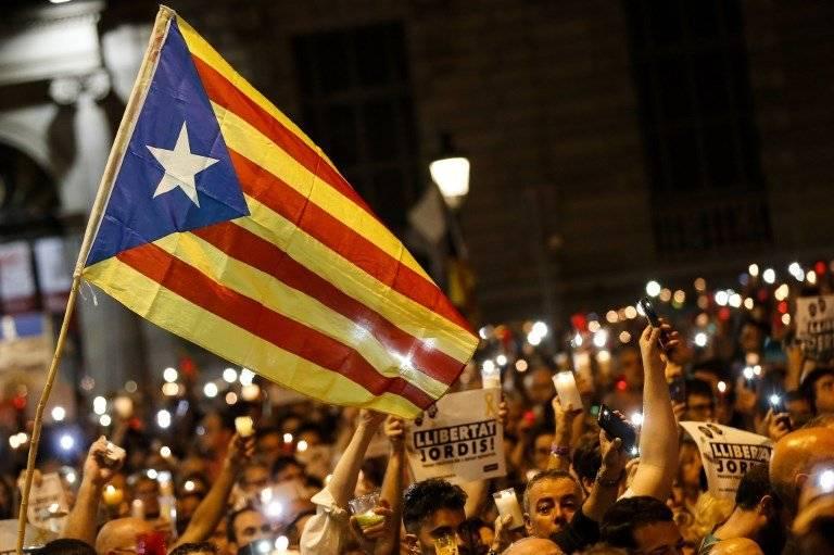 Movilizaciones en Cataluña