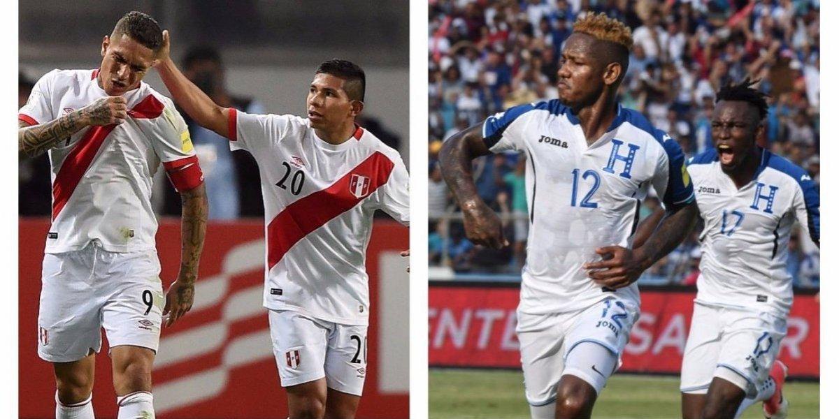 La FIFA ayudará a Perú y a Honduras a viajar para el repechaje a Rusia 2018