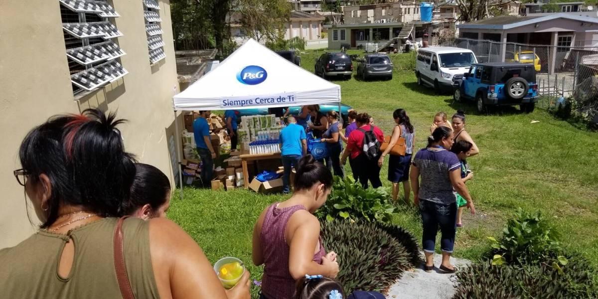Distribución de productos de higiene y limpieza de P&G GRATIS, y servicios médicos de primeros auxilio en UTUADO y SAN LORENZO