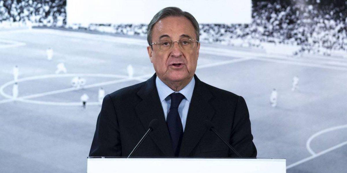 Florentino Pérez no concibe una Liga española sin el Barcelona