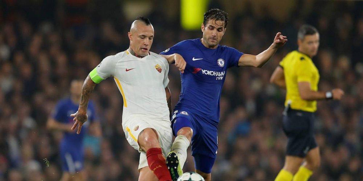 Chelsea y Roma dan partido de locura en la Champions