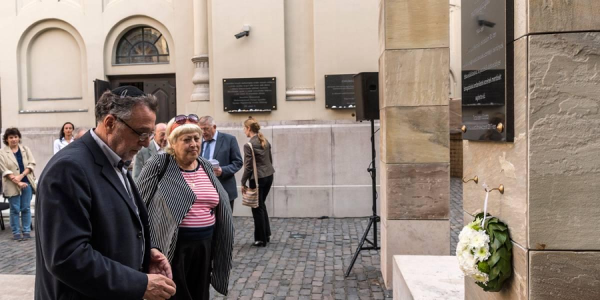Hungría rinde homenaje a impresor que salvó a judíos
