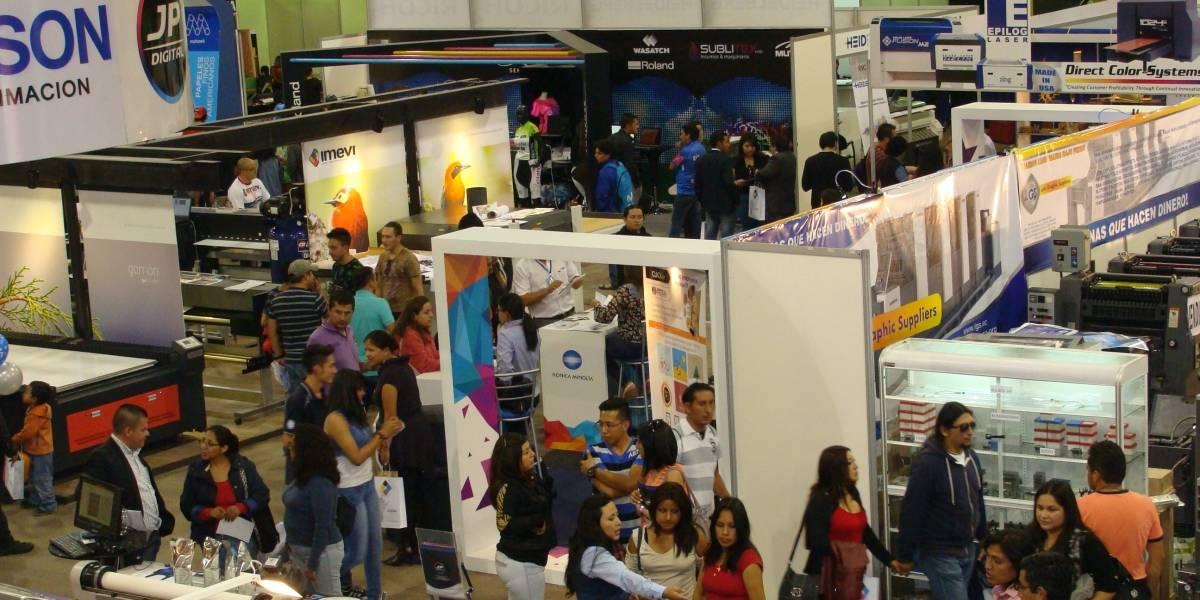 Feria de Industria Gráfica en Quito