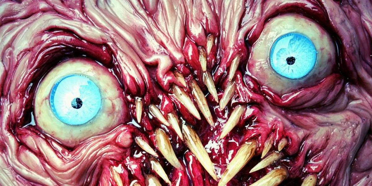 Placer Diabólico: Esculturas realistas de monstruos