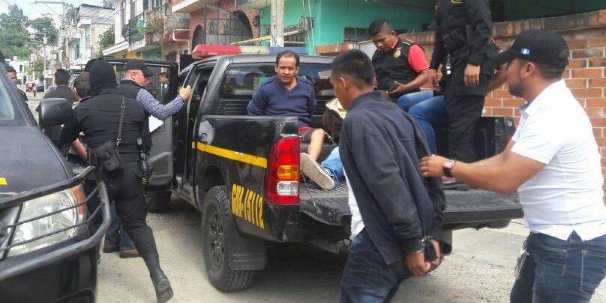 Capturados presuntos pandilleros de Barrio 18 durante allanamientos