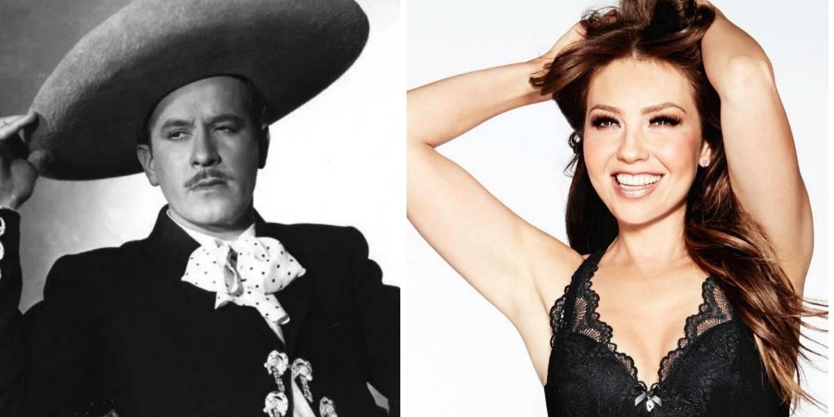 Lupita, nieta de Pedro Infante, ¡es comparada con Thalía!