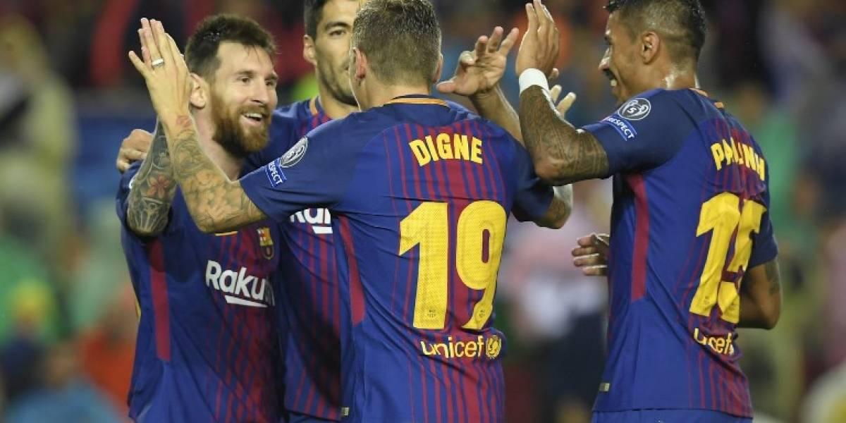 El Barça golea al Olympiacos y mantiene su paso perfecto en la Champions