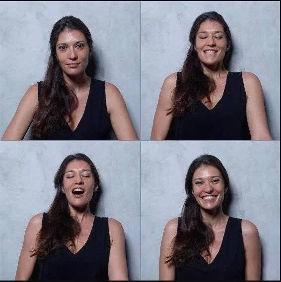 Internet Un fotógrafo captó las expresiones de las mujeres antes, durante y después del orgasmo