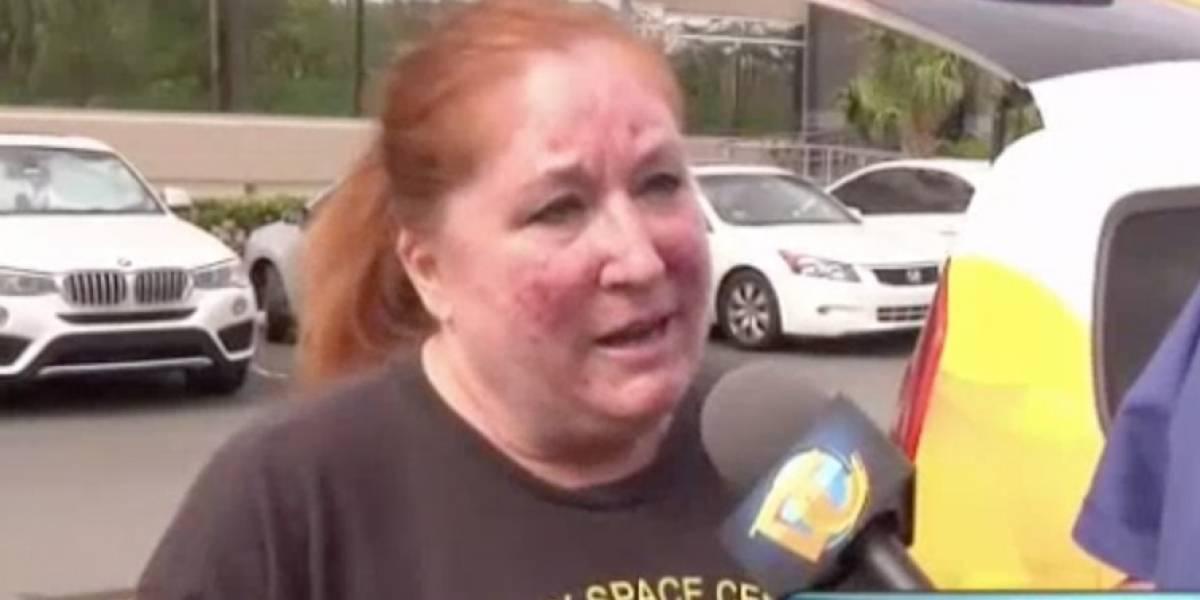 Susan Soltero relata los daños que ocasionó el huracán María a su casa