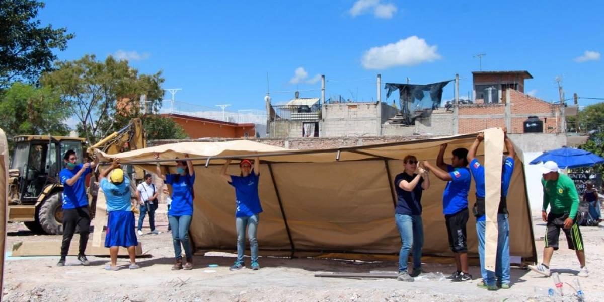 La reconstrucción de la zona cero a un mes del terremoto en México