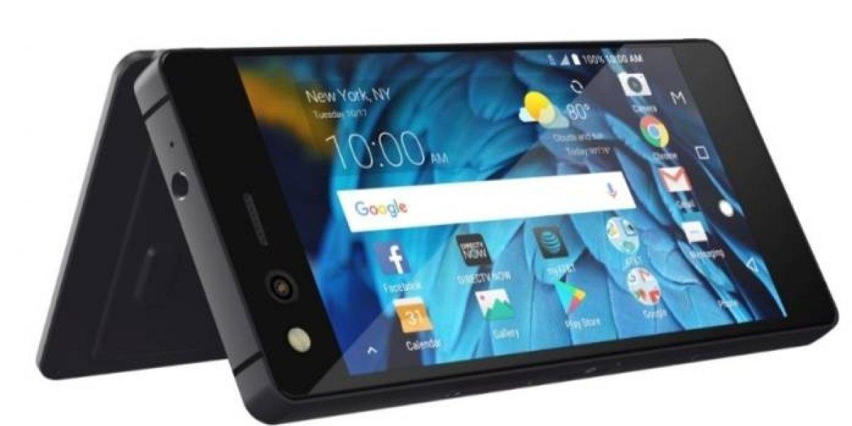 ZTE sorprende con smartphone plegable de doble pantalla