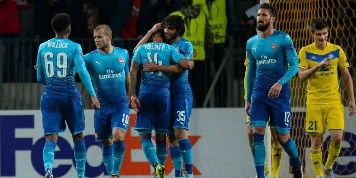 Así vivimos el triunfo del Arsenal sin Alexis ante Estrella Roja por la Europa League