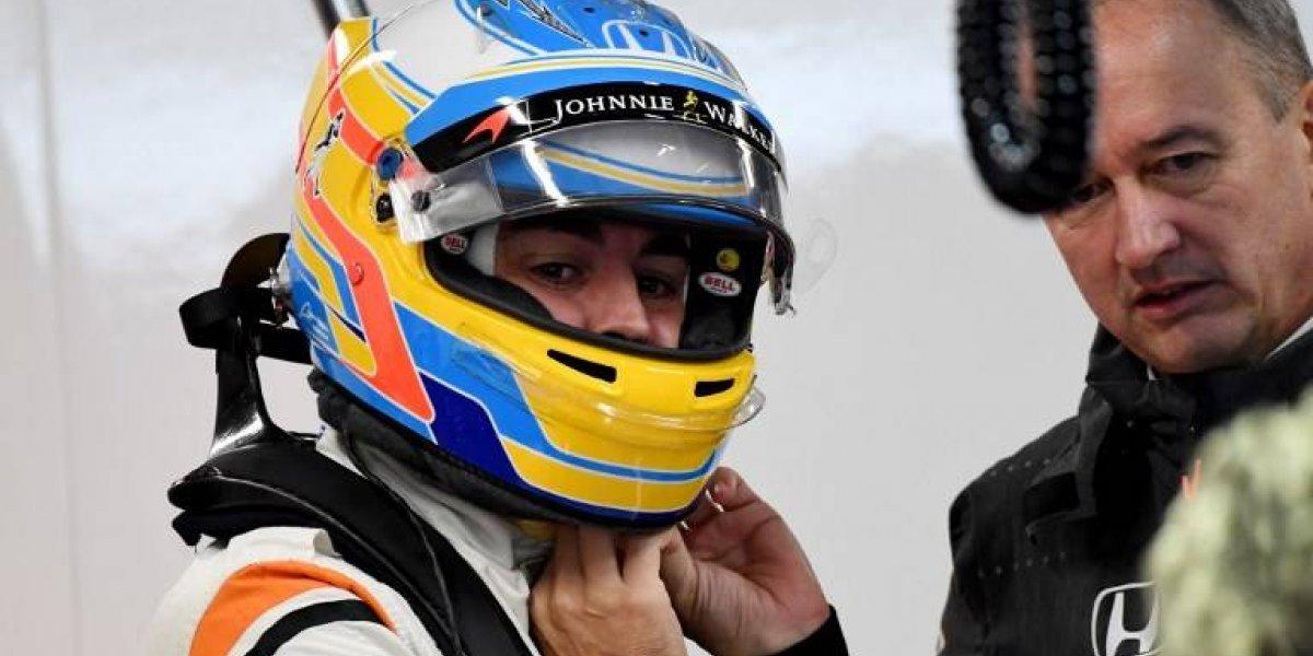 Fernando Alonso se la juega un año más con la escudería McLaren