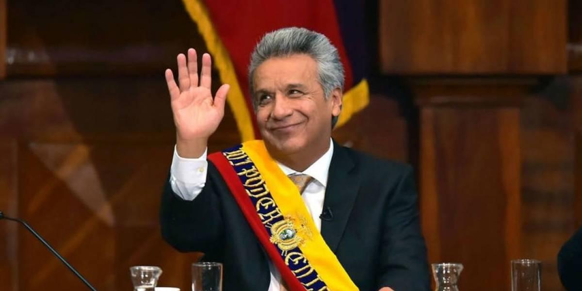 Lenín Moreno critica la reelección indefinida en Twitter