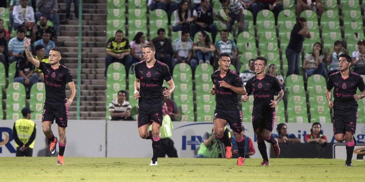 Santos gana por primera vez en casa al vencer al Necaxa