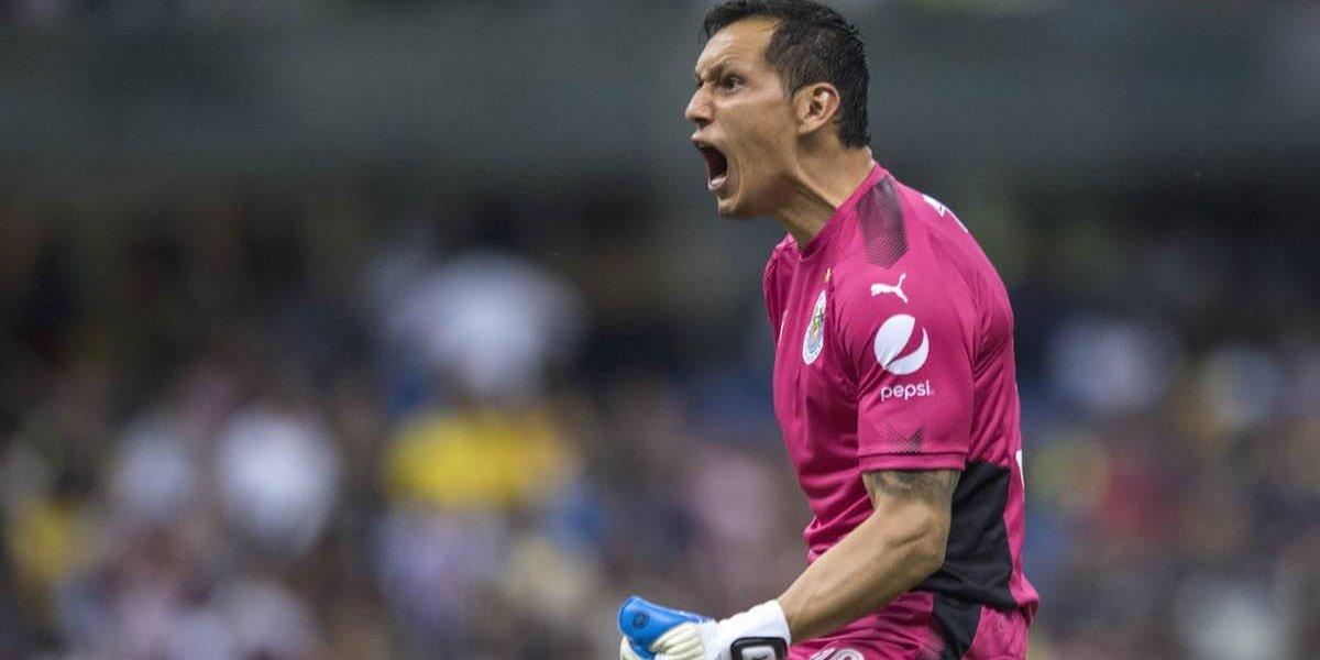 Rodolfo Cota reconoce que  echó a perder partido de Chivas