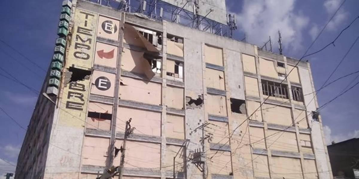 Vecinos exigen demolición de Tepicentro por seguridad