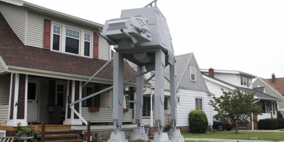 """Causa sensación enorme adorno de """"Star Wars"""" para Halloween"""