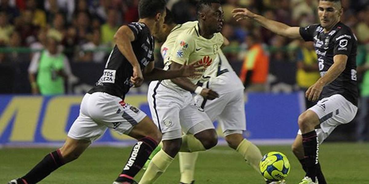Renato Ibarra anotó el gol del triunfo del América de México