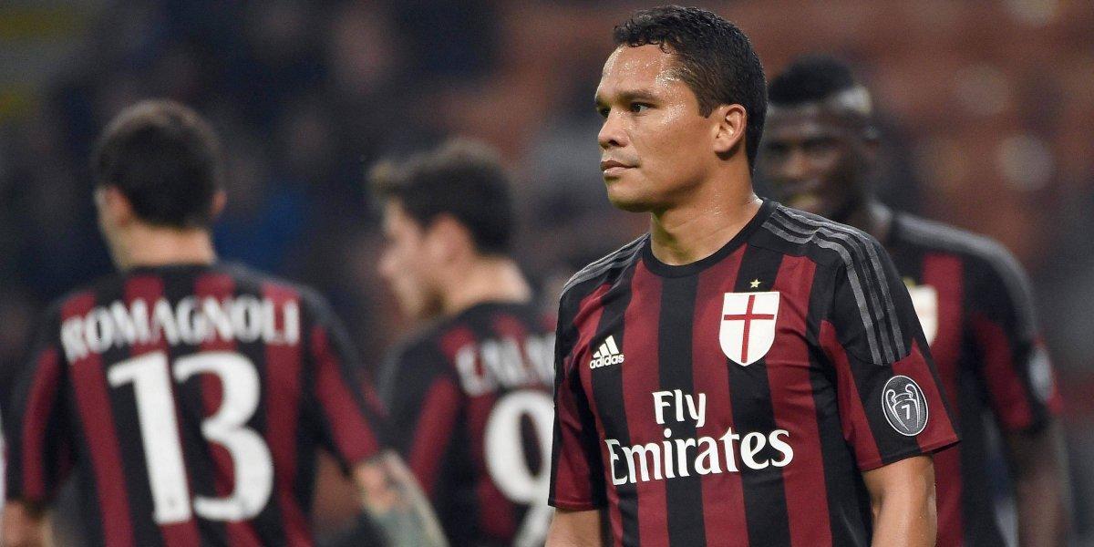 Indignación en Milán por declaraciones de Carlos Bacca contra su exclub