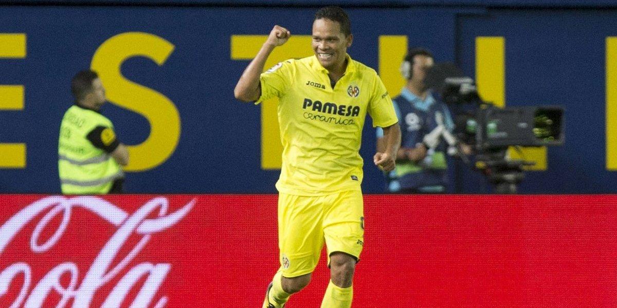 ¡Gol de Carlos Bacca! El barranquillero anota en la Europa League con Villarreal