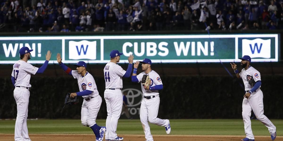 Cachorros ganan a Dodgers y evitan barrida en la serie por Liga Nacional