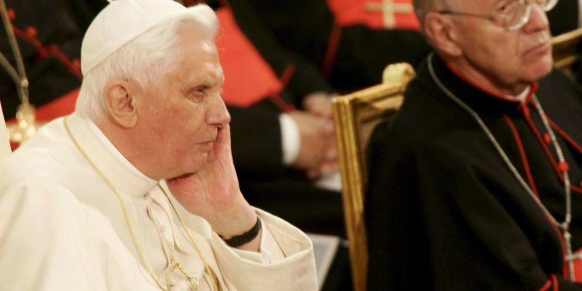 ¡Increíble! Revelan imagen de Benedicto XVI que pone en duda su estado de salud