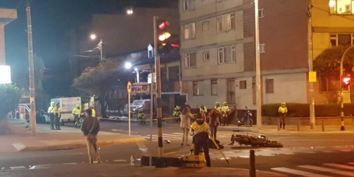 Motociclista pierde la vida tras ser embestido por bus del Sitp