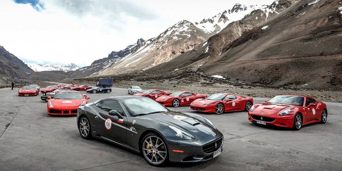 Ferraristas de sudamérica animarán Incontro 2017 sobre una distancia de 3873 kilómetros