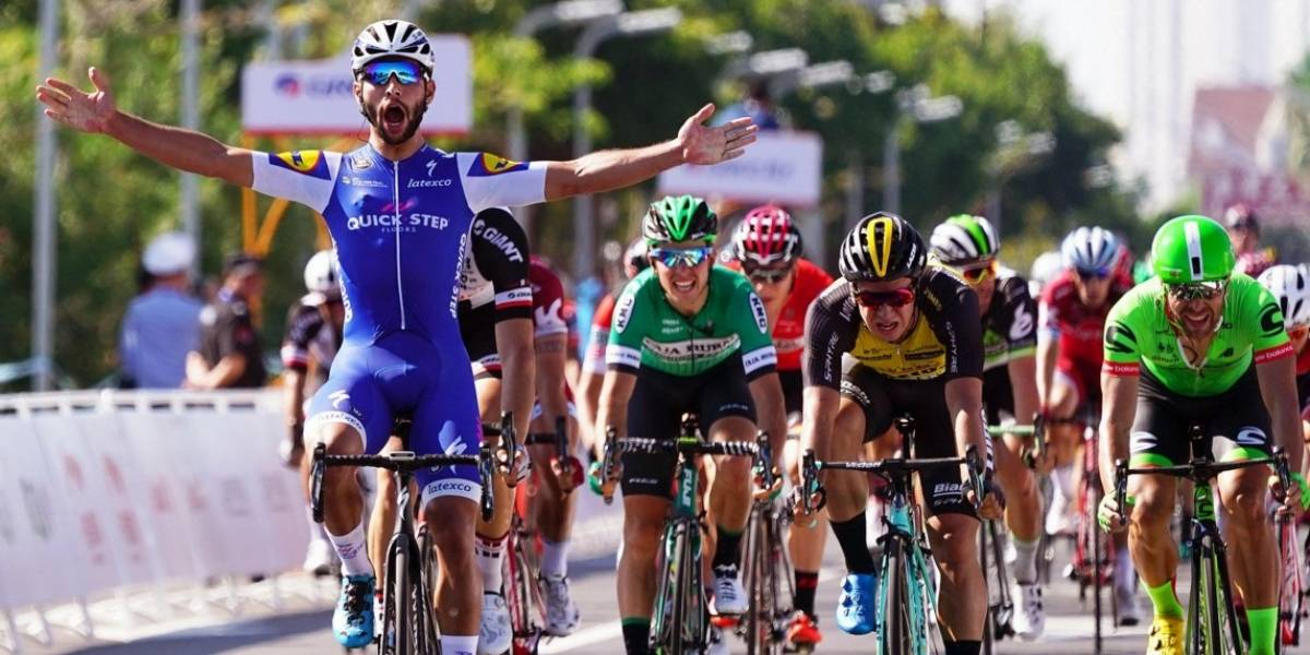 Fernando Gaviria sigue imparable en China