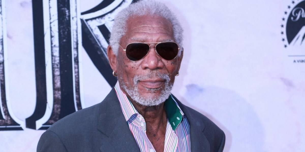 Un político, el nuevo personaje de Morgan Freeman en el cine