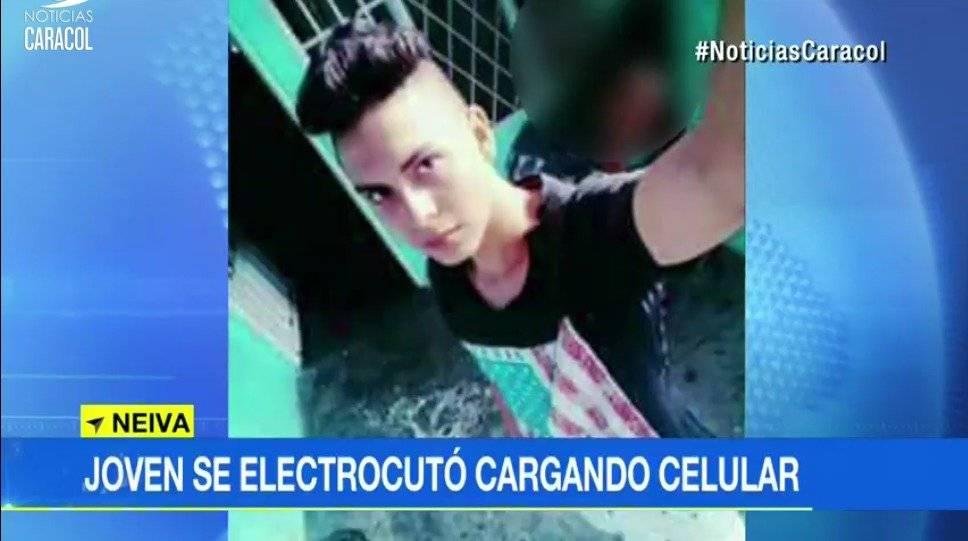 Captura de pantalla Noticias Caracol