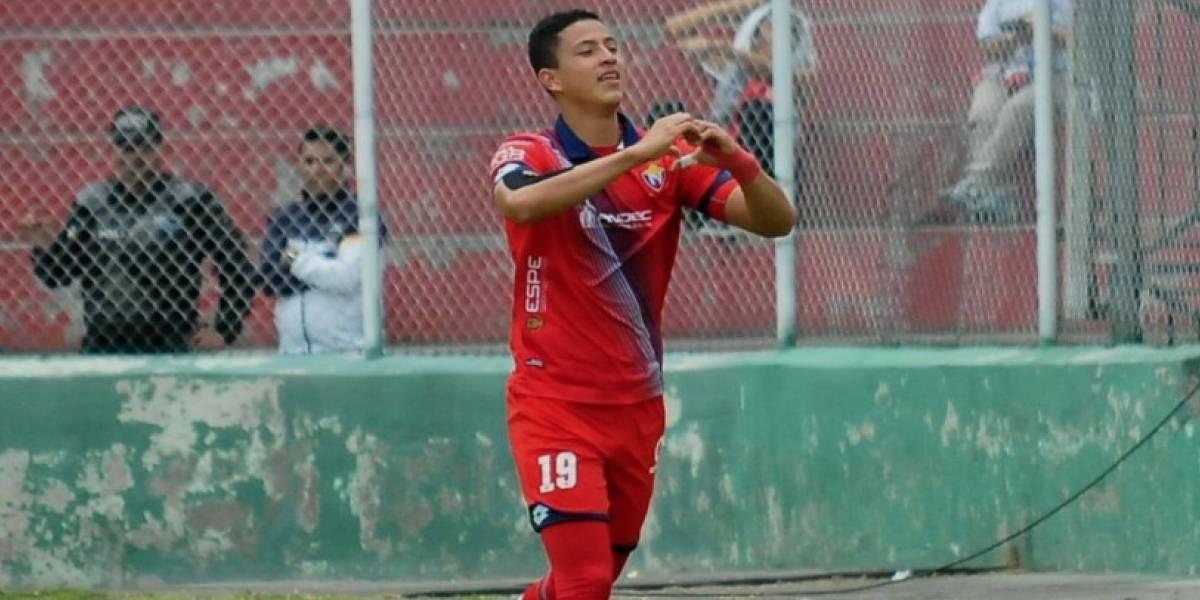 Miguel Parrales será baja en El Nacional por cuatro o seis semanas