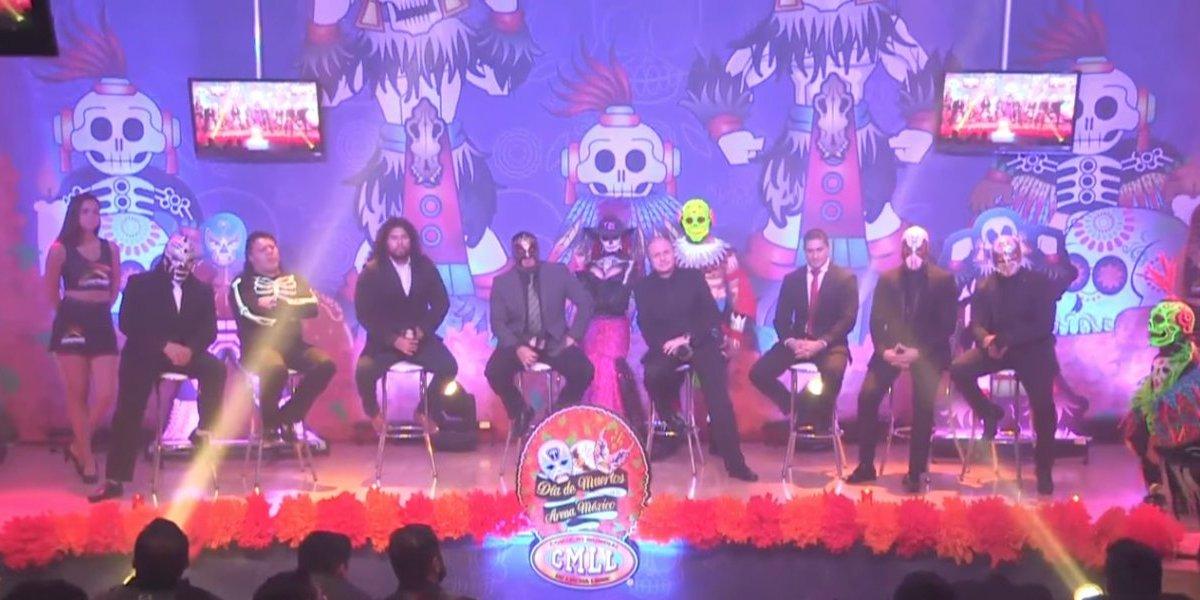 CMLL celebrará el Día de Muertos con tres funciones