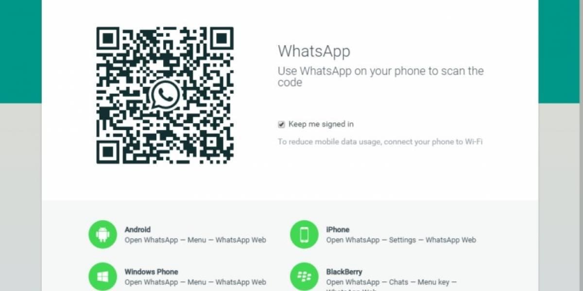 10 ventajas de usar la versión web de WhatsApp