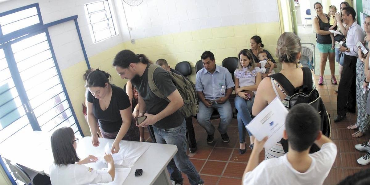 Postos da zona norte têm vacinação neste sábado contra febre amarela