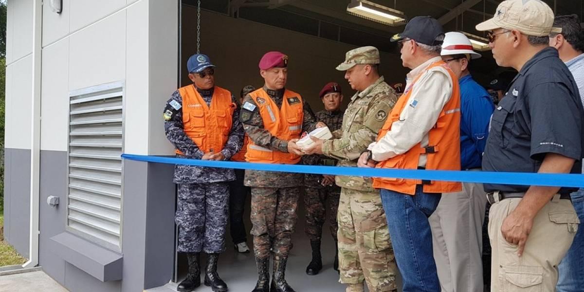Estados Unidos colabora en la construcción de almacenes para emergencias