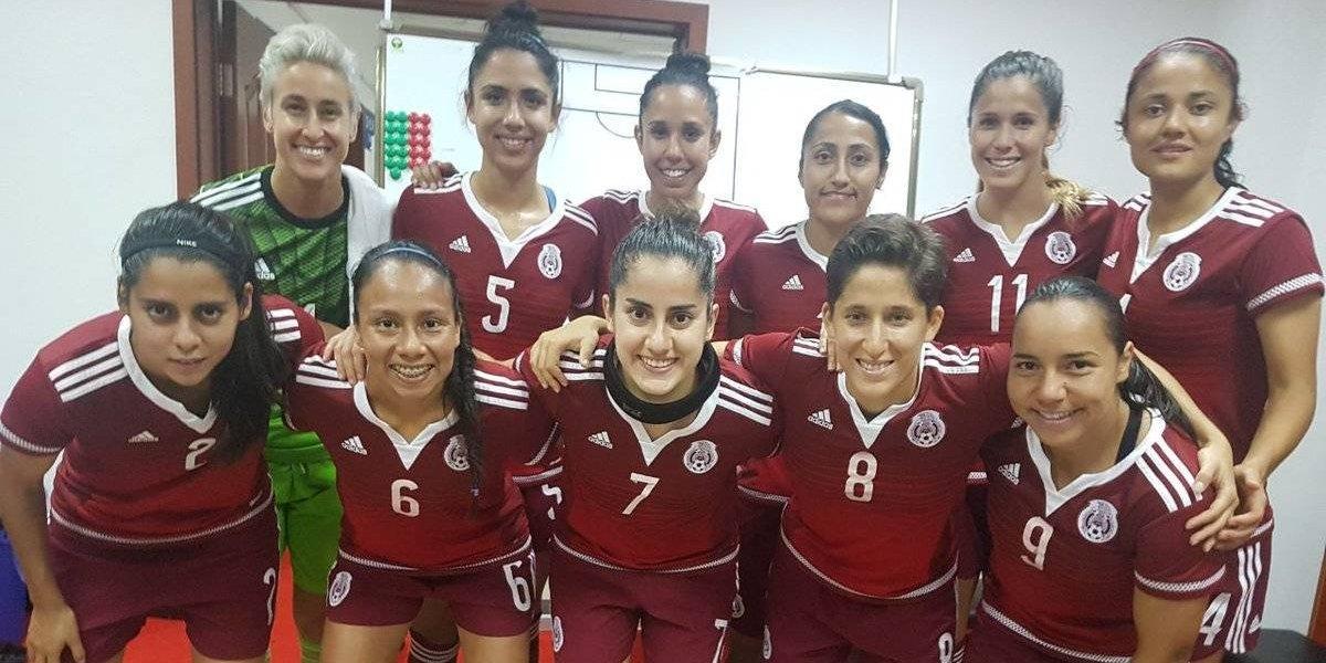 Tricolor femenil pierde ante Brasil en Torneo cuatro naciones