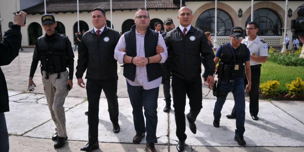 Confirman vinculación a proceso contra Javier Duarte