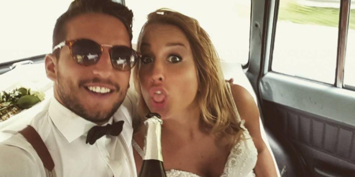 Esposa de estrella del fútbol italiano hace una candente confesión sexual